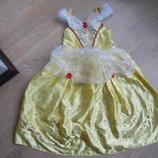 карнавальное платье 7-8 л желтое принцса Disney Дисней