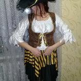 Карнавальный костюм Пиратки.взрослый.