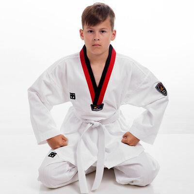 Добок кимоно для тхэквондо Mooto 5630, хлопок полиэстер 110-160см, плотность 240