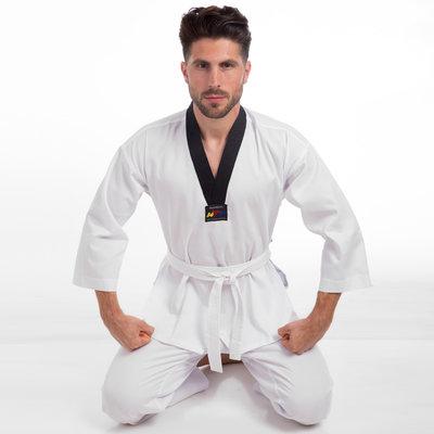 Добок кимоно для тхэквондо WTF 012, хлопок полиэстер 110-180см, плотность 240