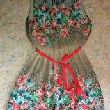 Нарядное платье Beyzas.Турция.40р.Наш 46-48,L.