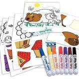 Crayola Набор для рисования Мой первый пазл-наклейка My First Sticker Puzzle Kit