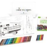 Crayola Набор подарочный c очень красивой графикой Color Escapes HUGE Art Activity Set