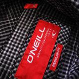 Мужская рубашка в мелкую клетку серая O'neill XL