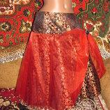 Нарядная пышная юбка с фатином