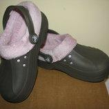 Крокси утеплені Crocs Оригінал р.С 12-13 стелька 18,5 см