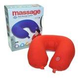 Подушка для путешествий Neck Massage Cushion - массажная подушка