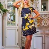 Летнее платье-туника 364