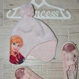 Обалденные фирменные шапки шапочки 2 - 3 3 - 6 лет Эльза дисней Disney Frozen фрозен холодное сердце
