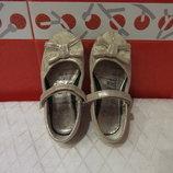 Красивые туфельки блестящие д/дев. р.24 17 George, по стельке-15,5 см