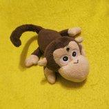 Обезьяна. мавпа.мартышка.обезьянка.мягкая игрушка.мягка іграшка.мягкие игрушки.Ootb toys