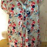 Нарядная кофточка-блуза 54-56р
