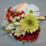 Искусственный свадебный букет невесты букет дублер