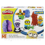 Пластилин Плей до Переполох Миньонов Play Doh B0498 Play-Doh Makin' Mayhem Set Featuring Despicable