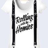 Замечательная 3D футболка Rolling