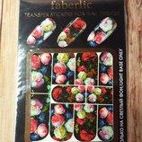 Переводные наклейки для дизайна ногтей faberlic 7167 фаберлик
