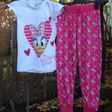 Трикотажная пижама Daisy Duck Дисней 7-8 лет Primark Disney