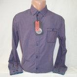 Мужская рубашка с длинным рукавом в клетку YChromosome.
