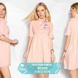 Платье рубашка пайетки