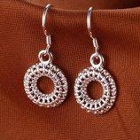 Серебро 925. Серебряные серьги, сережки, серебрянные.