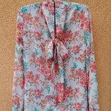 Блузка женская, блузка с бантом