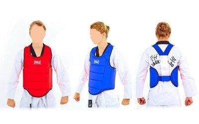 Жилет для единоборств детский для каратэ защита корпуса Elast 3951 2 цвета, размер L 40