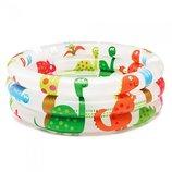Детский надувной бассейн Динозавры 57106