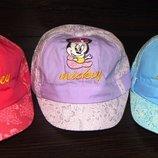 Дитячі кепки для дівчаток Міккі 50 р.