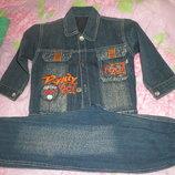 Продам джинсовый костюм на весну