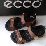Ecco Экко оригинал натуральная кожа босоножки сандалии 28 р 17.5 см