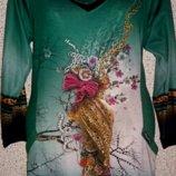 Коллекционное платье-туника от бренда Balerina.Оригинал