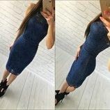 Костюм Топ юбка набивной гипюр 8 цветов