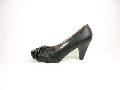 Женские модные туфли-лодочки на устойчивом каблуке. Размер 36-41.