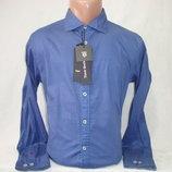 Мужская рубашка с длинным рукавом Tony Backer. Разные цвета.
