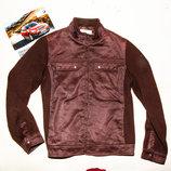 Куртка Crocodile коричневая для мальчика 12-13 лет, 152-158 см