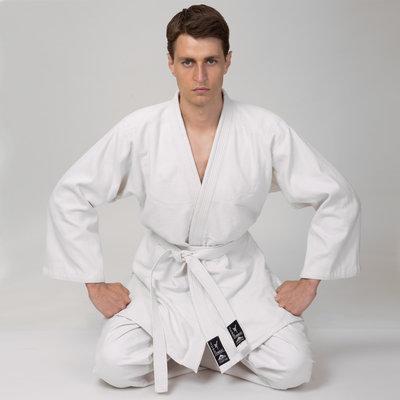 Кимоно для дзюдо белое Matsa 0013, хлопок размер 110-200см