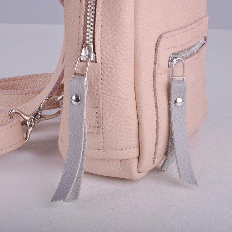 26d259e8e530 Кожаный женский маленький рюкзак: 1535 грн - спортивные сумки, рюкзаки в  Киеве, объявление №12955002 Клубок (ранее Клумба)