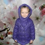 куртка зимняя Miss gang на девочку 4-6 лет отл. сост. обмен