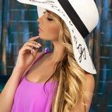 Соломенная шляпа «Бэль»Артикул 1701