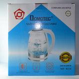 Чайник электрический дисковый на подставке 360 - Domotec MS-8114 2200W