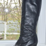 Чоботи шкіряні розмір 40, кожание сапоги ботинки размер 40
