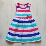 Яркое платье для девочки. George. Размер 2-3 года. Состояние идеальное