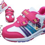 Яркие кроссовки для девочки. В наличии 22,24,27р.