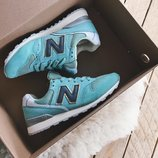 Кроссовки женские замша New Balance 996 мятные