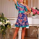 Красочное платье 381