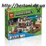 Конструктор Lepin 18013 Береговая цитадель аналог Lego Minecraft Майнкрафт