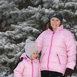 Куртки H&M 4-6лет и 164рост для мамы и дочки
