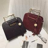 Каркасная сумка с ручками в форме котика В Наличии