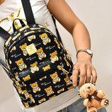 Сказочный рюкзак Baili с принтом мишки В Наличии