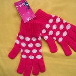 Фирменные яркие новые перчатки варежки рукавицы